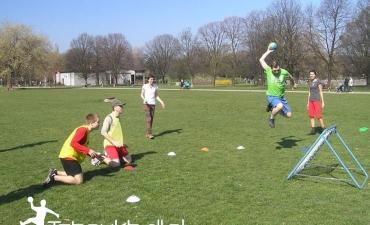 Trening na Polu Mokotowskim — 30.03.2014