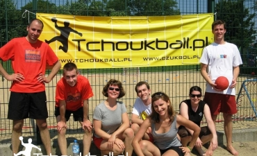 Trening w Parku Szczęśliwickim — 18 lipca 2009