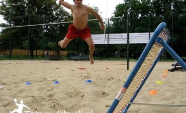 Trening w Parku Szczęśliwickim — 4 lipca 2009